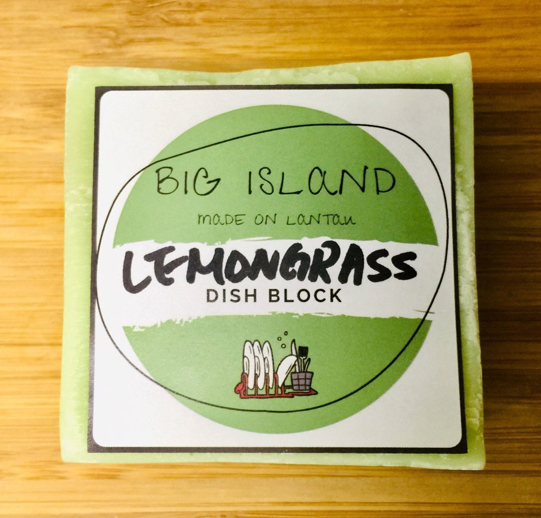 Big Island Dish Block (Lemongrass)