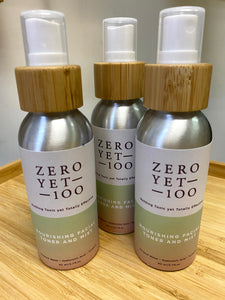 ZeroYet100 Nourishing Facial Toner & Mist (80ml)