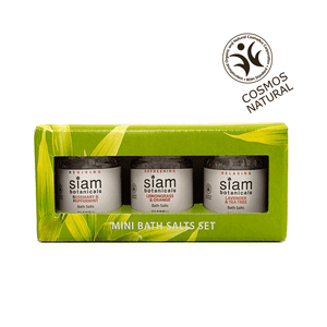 Mini Bath Salts Set 3pcs set Siam Botanicals
