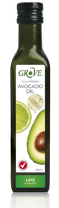 Avocado Oil (250ml) LIME (Cold Pressed Extra Virgin) 'Grove'
