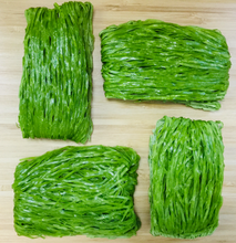Load image into Gallery viewer, Egg noodles (spinach flavour) 4 pcs