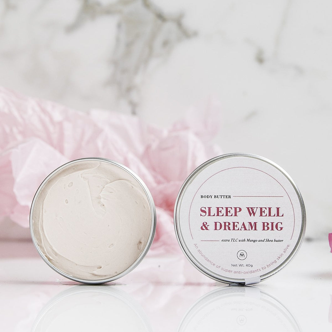 SLEEP WELL  Body Butter , Coconut Matter