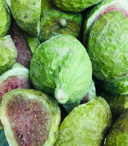 Freeze-dried figs