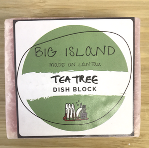 Big Island Dish Block (Tea Tree)
