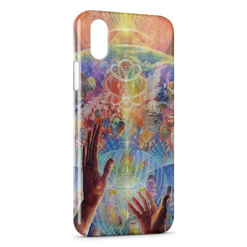 Fundas iPhone XR Psychedelic Style 3
