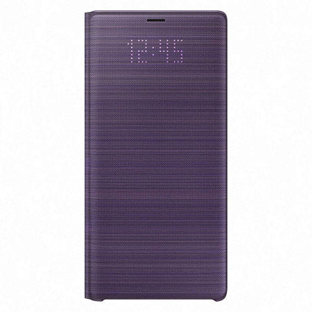 funda samsung note 9 led view cover