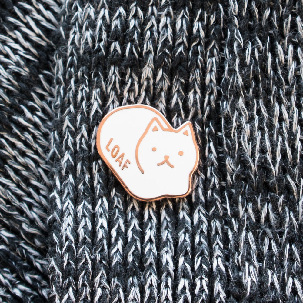 Load image into Gallery viewer, Loaf Cat Enamel Pin