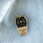 Cactus Cat Enamel Pin