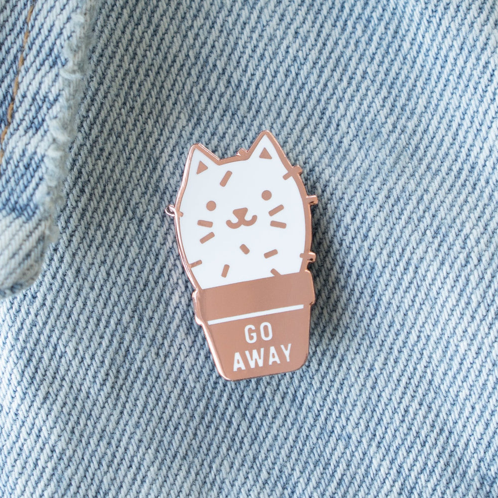 Cactus Cat Pin