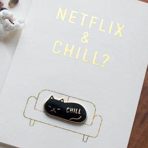 Load image into Gallery viewer, Netflix and Chill Card