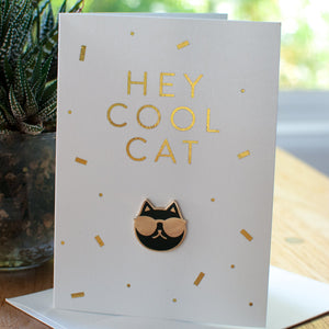 Hey Cool Cat Card