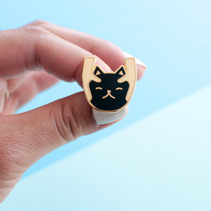 Cat Massage Pin