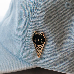 Load image into Gallery viewer, Ice Cream Cat Pin