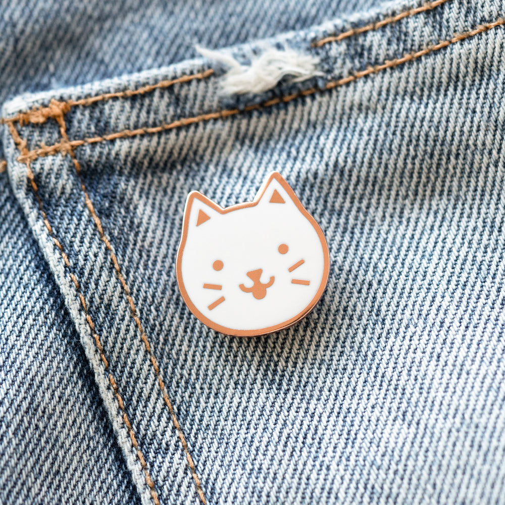 Blep Cat Enamel Pin