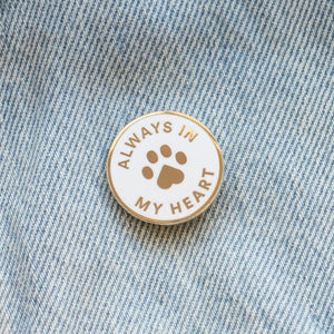 Load image into Gallery viewer, Pet Loss Enamel Pin