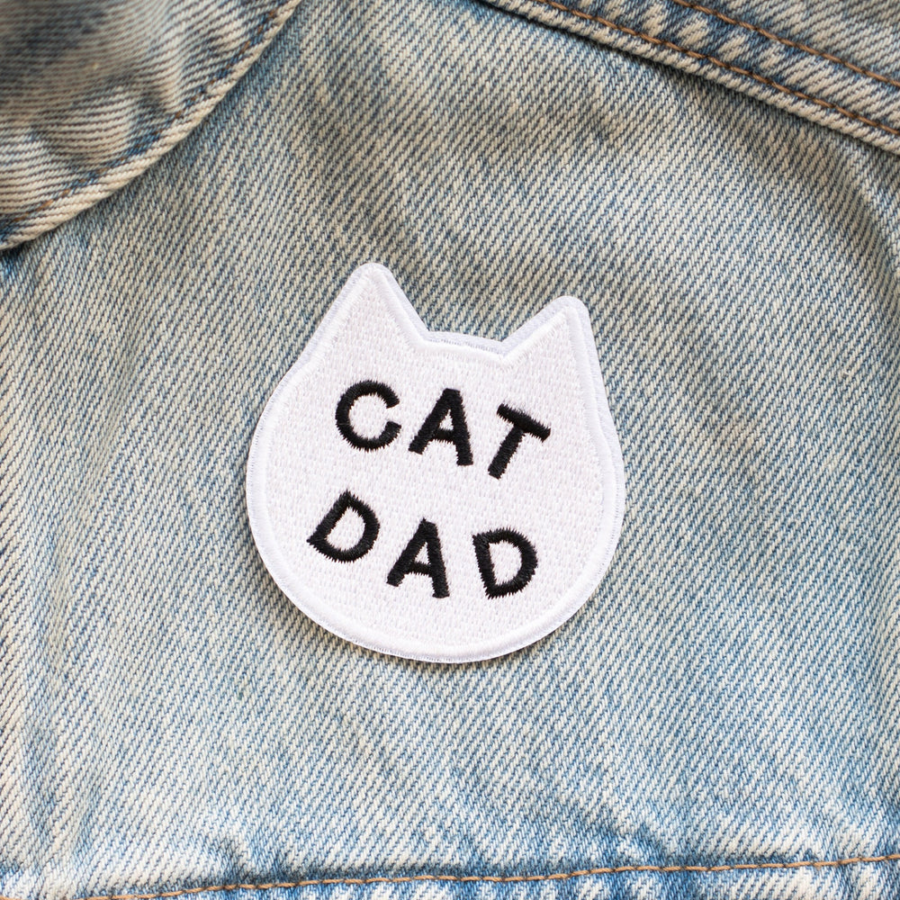 Cat Dad Patch