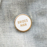 Bridesman Enamel Pin