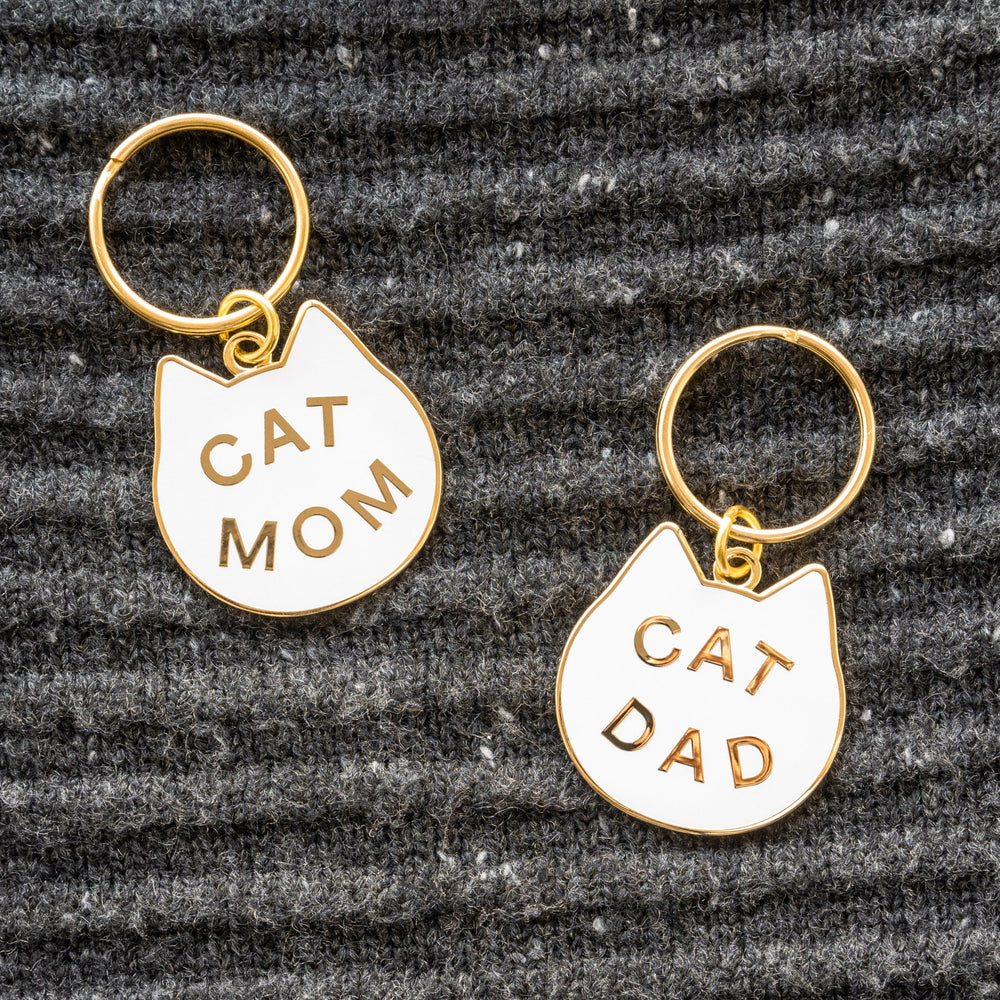 Load image into Gallery viewer, Cat Dad Keychain
