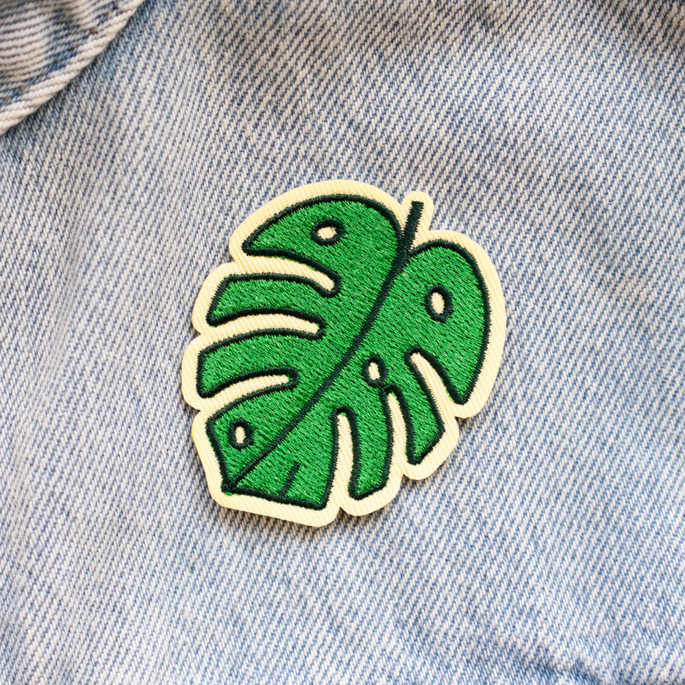 Monstera Leaf Patch