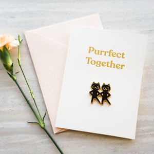 Purrfect Together Card