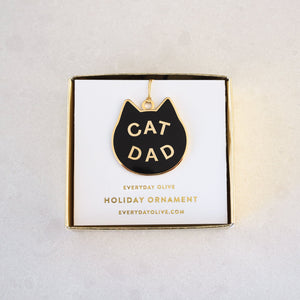 Load image into Gallery viewer, Cat Dad Ornament
