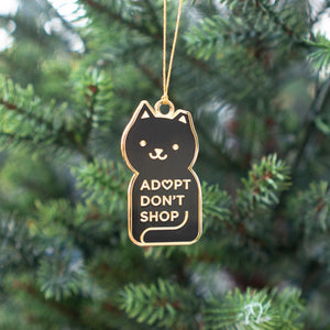 Adopt Don't Shop Ornament