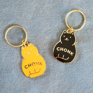 Load image into Gallery viewer, Chonk Keychain