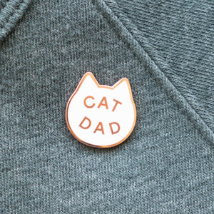 Cat Dad Pin