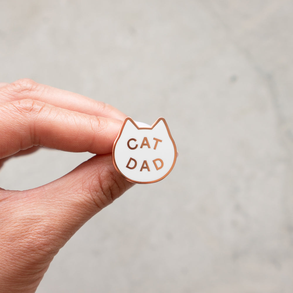 Load image into Gallery viewer, Cat Dad Pin