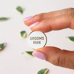 Load image into Gallery viewer, Groomsman Pin