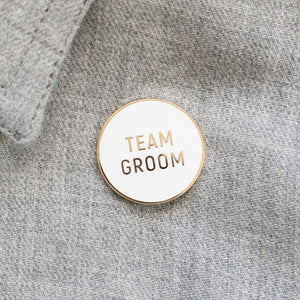 Load image into Gallery viewer, Team Groom Pin