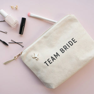 Load image into Gallery viewer, Team Bride Pouch
