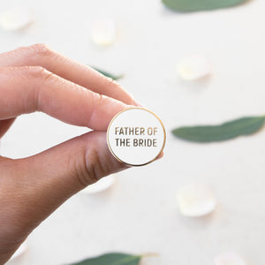 Load image into Gallery viewer, Father of the Bride Pin