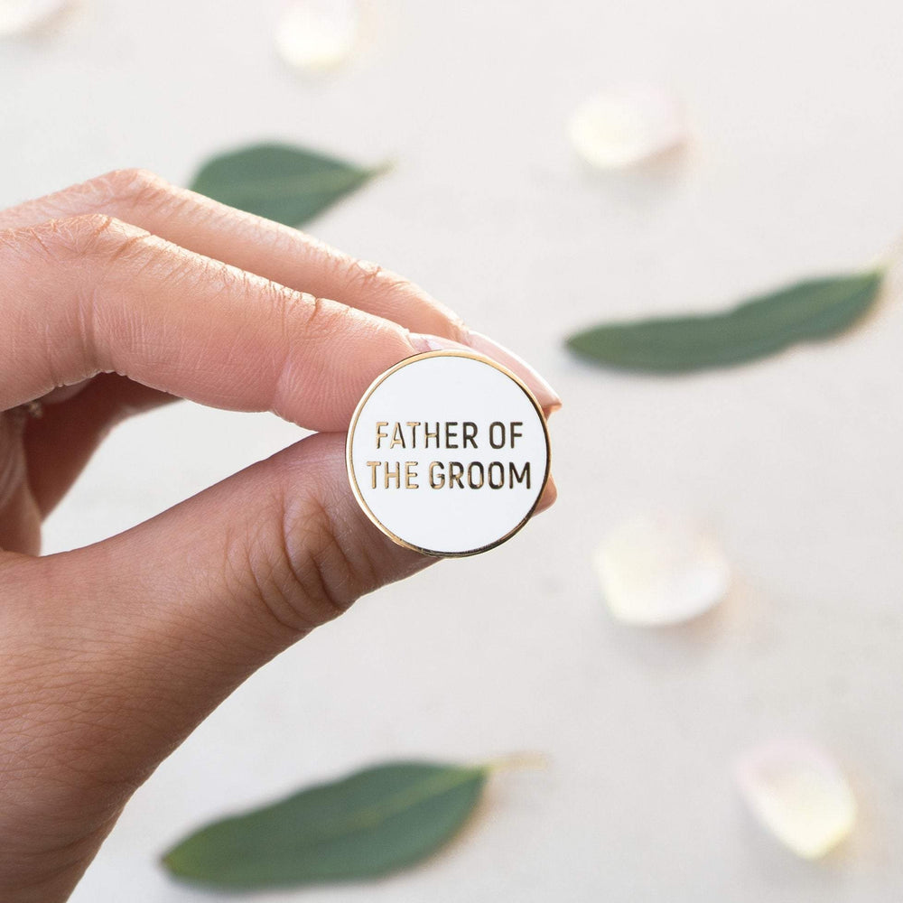 Load image into Gallery viewer, Father of the Groom Pin