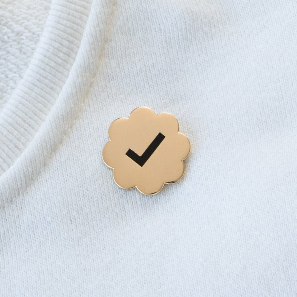 Verified Pin