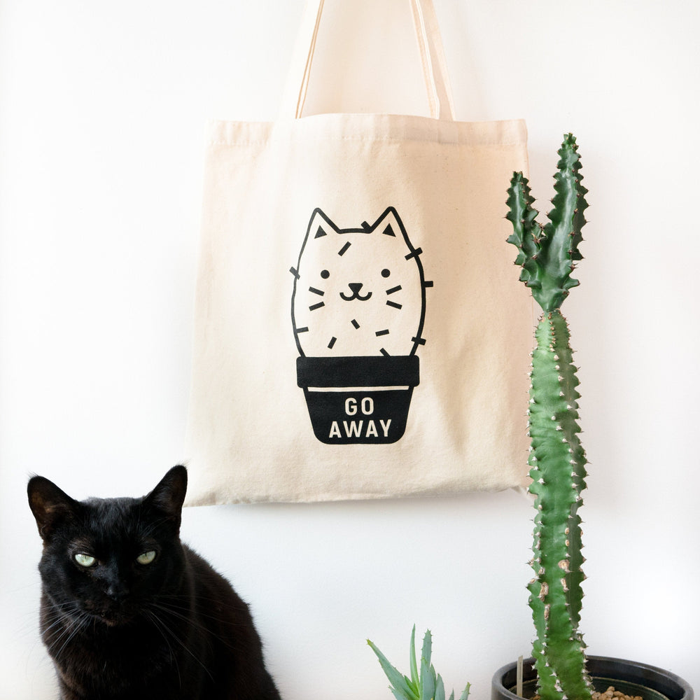 Cactus Cat Tote Bag
