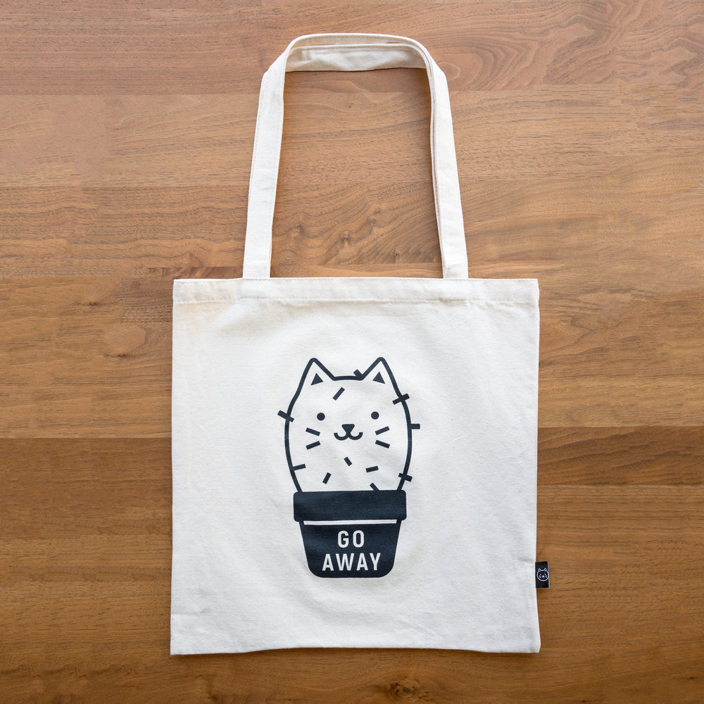 Load image into Gallery viewer, Cactus Cat Tote Bag