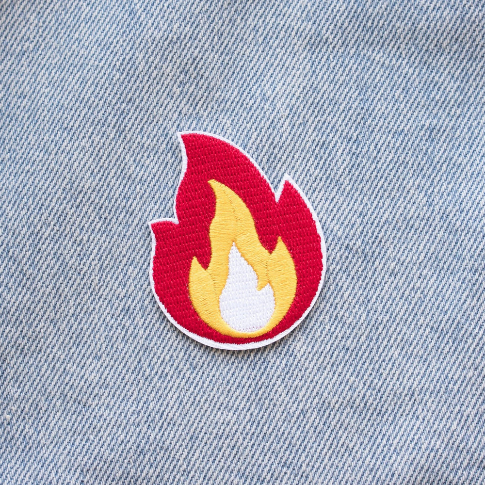 Flame Patch