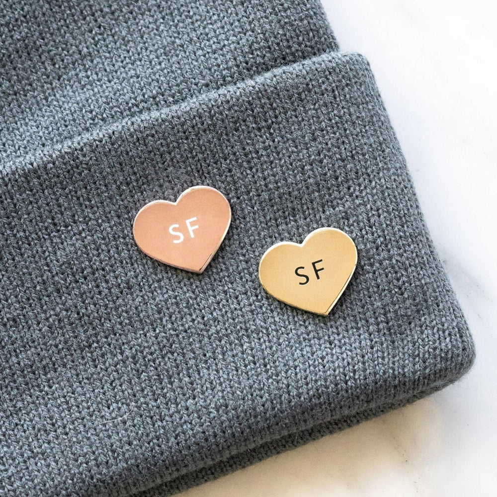 SF Heart Pin