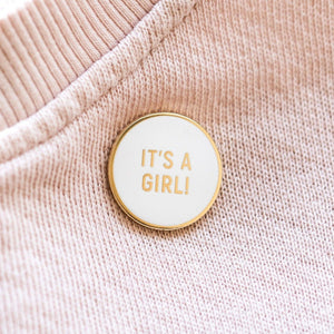 It's a Girl Pin