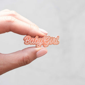 Load image into Gallery viewer, Babygirl Enamel Pin