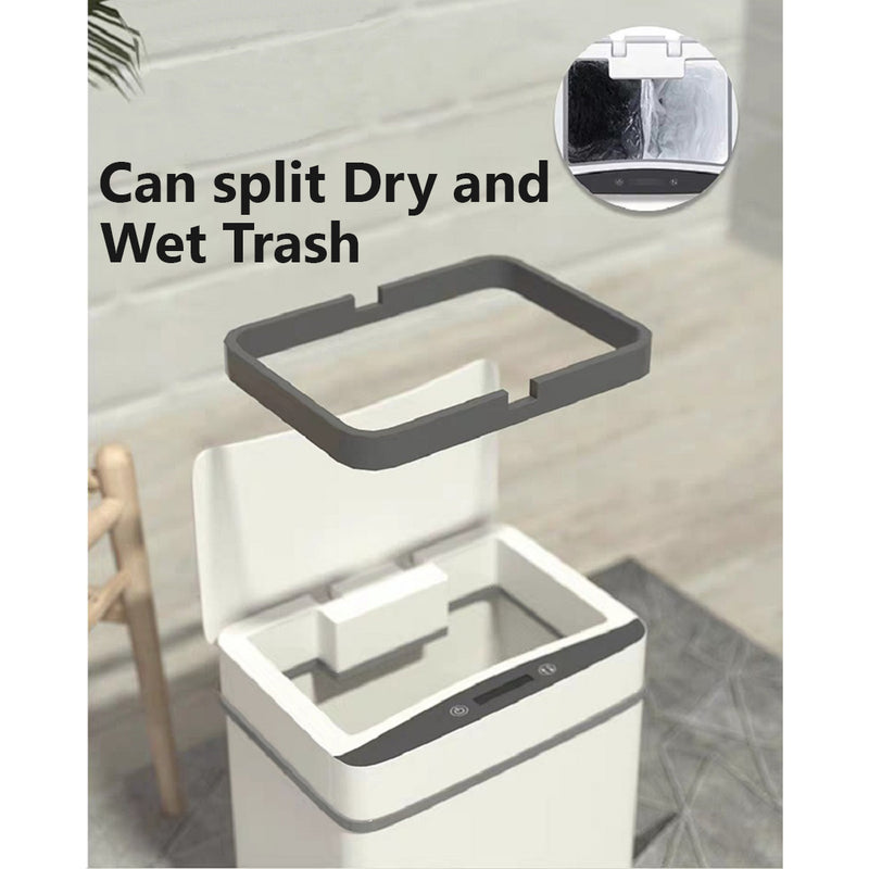 [ITC 1] Slim Automatic Touchless Sensor Waste bin Trash Can Basket Dustbin for Kitchen Home Office Bathroom Bedroom