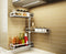 Designer Stainless Steel Rotatable Spice Rack, Condiment Rack