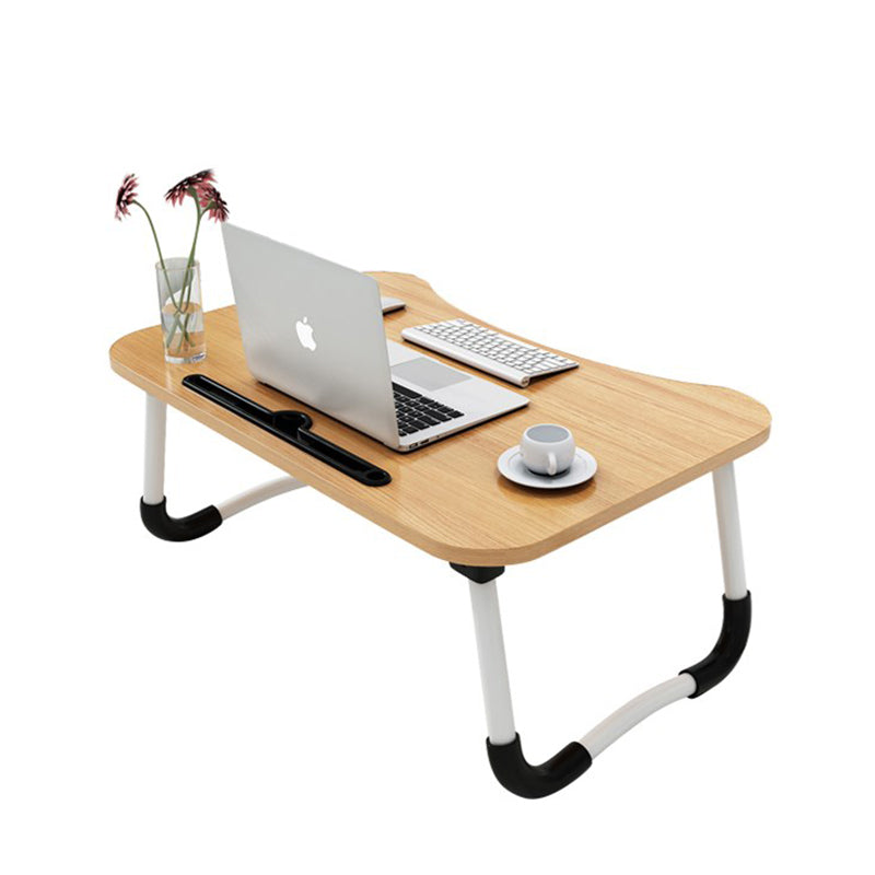 Portable Folding Laptop Desk, Bed table with tablet holder