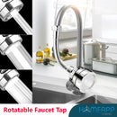360 Degree Rotatable Swivel Head Faucet Aerator Nozzle Tap increase water pressure with 3 spray modes