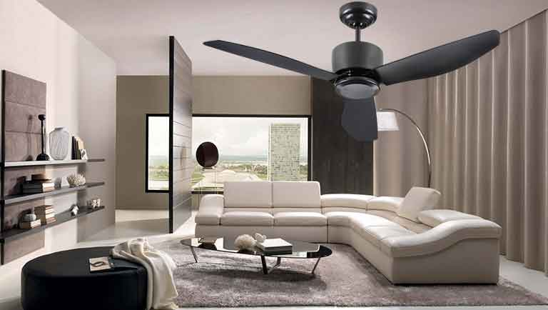 Fanco i-Con Ceiling fan with Remote, 3 tone LED light (With Installation)