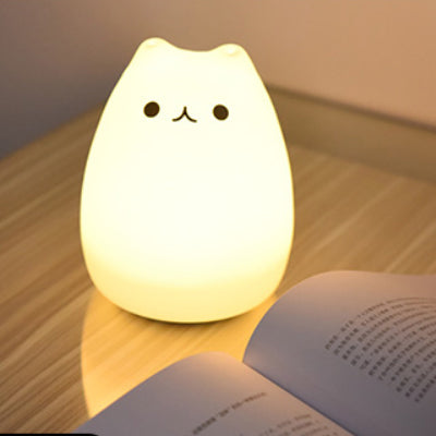 Mini Colour Changing LED Night Light for Kids - Battery operated