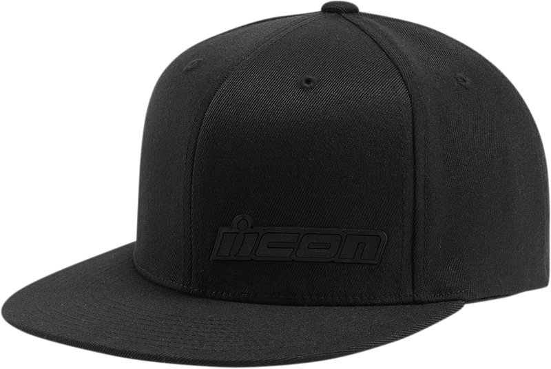 Icon Fused Flat Bill Hat - Hardcore Cycles Inc