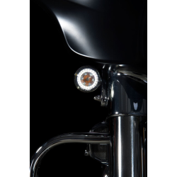 Custom Dynamics PROBEAM® DYNAMIC RINGZ™ TURN SIGNALS WITH SMOKED LENSES