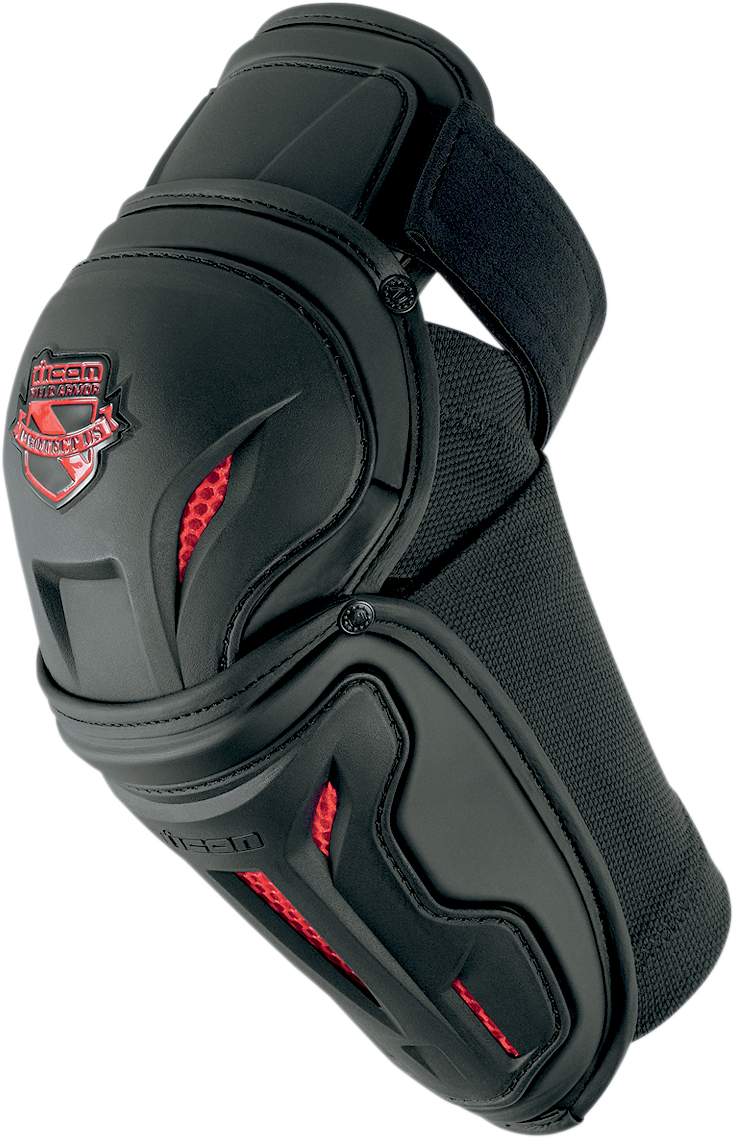 Icon Field Armor Stryker™ Elbow Guards - Hardcore Cycles Inc